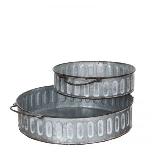 Bara tray grey Small