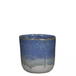 Tom pot round blue  Large