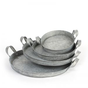 Inca tray grey Medium