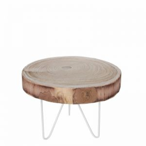 Table round light brown