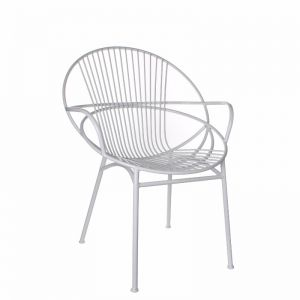 Twis Metal chair white