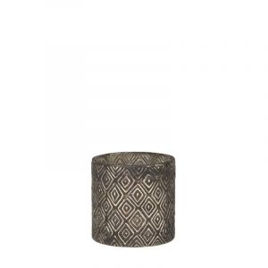 Chica tealight holder grey