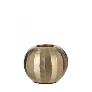 Silvester tealight holder gold
