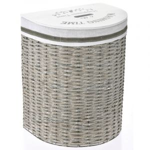 WILLOW LAUNDRY BASKET GREY