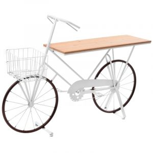 METAL BICYCLE WITH WOOD