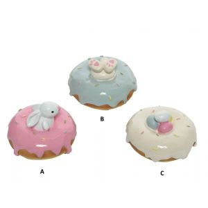 Decorative donut 3 designs