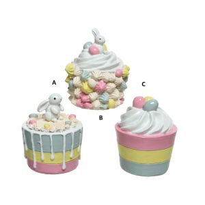 Decorative cupcake 3 designs