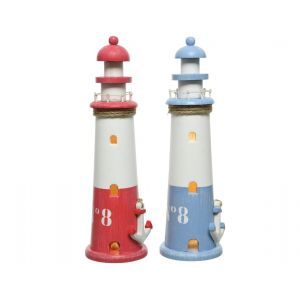 Lighthouse with LED in two colours